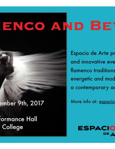 Espacio de Arte - Flamenco And Beyond Show