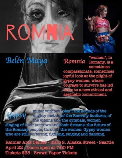 Romnia flyer